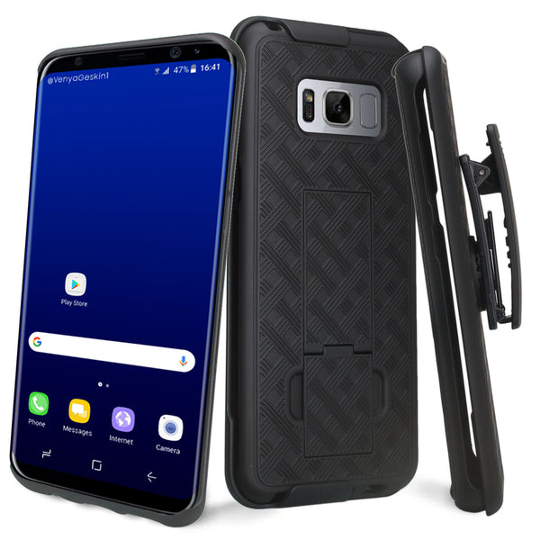 Galaxy S8 holster shell combo case - www.coverlabusa.com