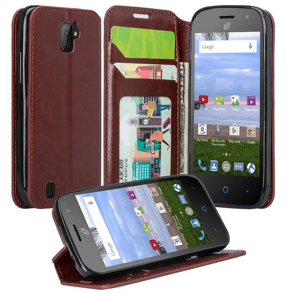 ZTE Citrine LTE Case, Brown - www.coverlabusa.com