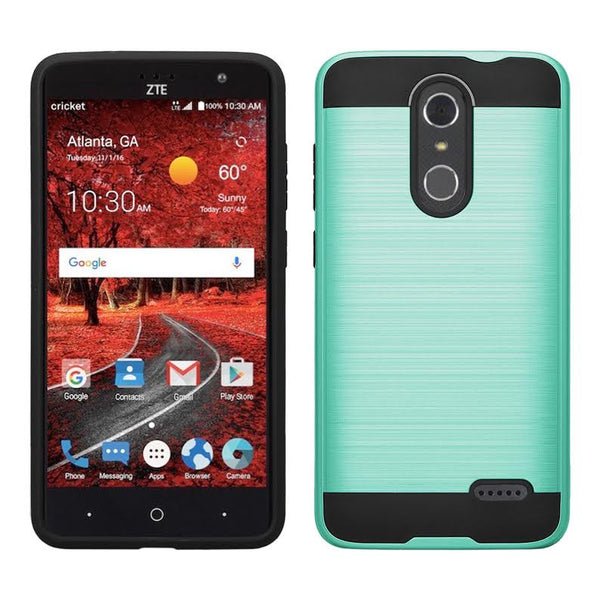 ZTE Grand X 4 Case, ZTE Grand X4 [Shock/Impact Resistant] Hybrid Protective Case Cover for ZTE Grand X 4, TEAL WWW.COVERLABUSA.COM