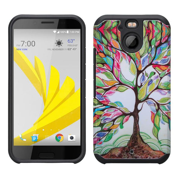 HTC Bolt Case, Hybrid Protective Cover COLORFUL TREE  WWW.COVERLABUSA.COM
