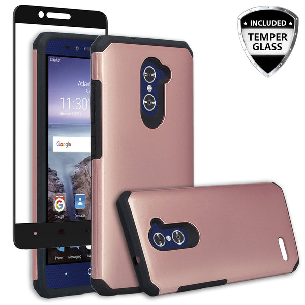 zmax pro case, zmax pro hybrid case - solid rose gold - www.coverlabusa.com