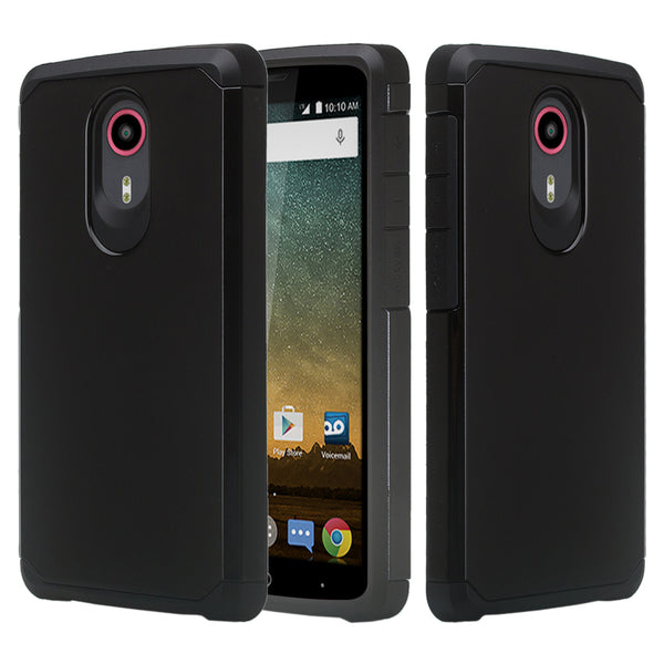 zte ultra case - black - www.coverlabusa.com