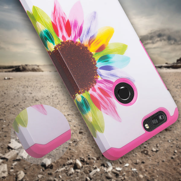 zte sequoia hybrid case - vivid sunflower - www.coverlabusa.com