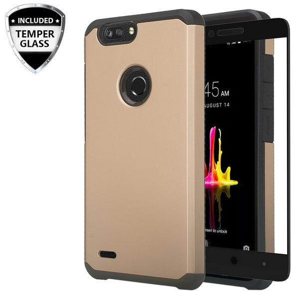 zte sequoia case - gold - www.coverlabusa.com
