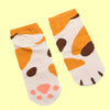 Neko Atsume Cat Paw Short Ankle Socks - KawaiiKoo