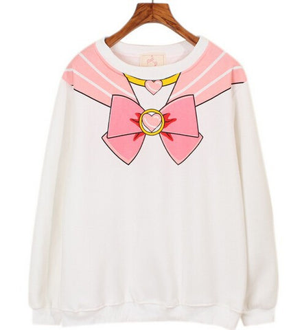 Sailor Moon Chibiusa Sweatshirt - KawaiiKoo