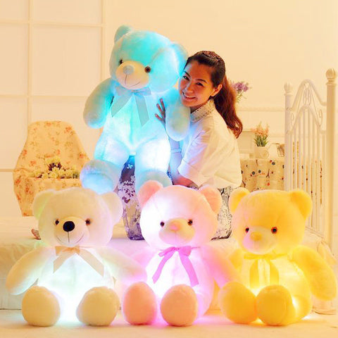 Bear Luminous Plush Pillow ☀Medium, 20''☀ - KawaiiKoo