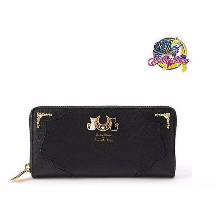 Sailor Moon Luna Long Zipper Wallet