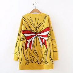 Anime Princess Knitted Long Sweaters