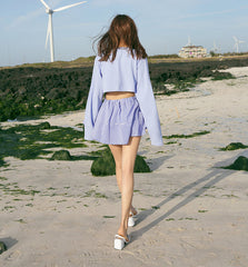 Summer Playful Striped Shorts