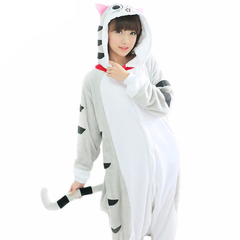 Chi's Sweet Home Flannel Onesie - KawaiiKoo