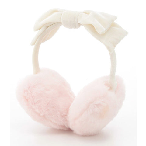 Bow-tie Fluffy Earmuffs