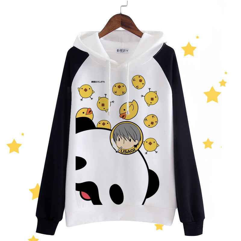 Junjou Junjo Romantica Anime Usami Akihiko Hoodies Japanese Kawaii Clothes Cute Hoodies Women Sweatshirts Pollvers - KawaiiKoo