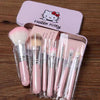Hello Kitty 7Pcs Makeup Brush Set - KawaiiKoo