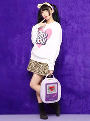 Kawaii Game Over Harajuku Style Backpacks - KawaiiKoo
