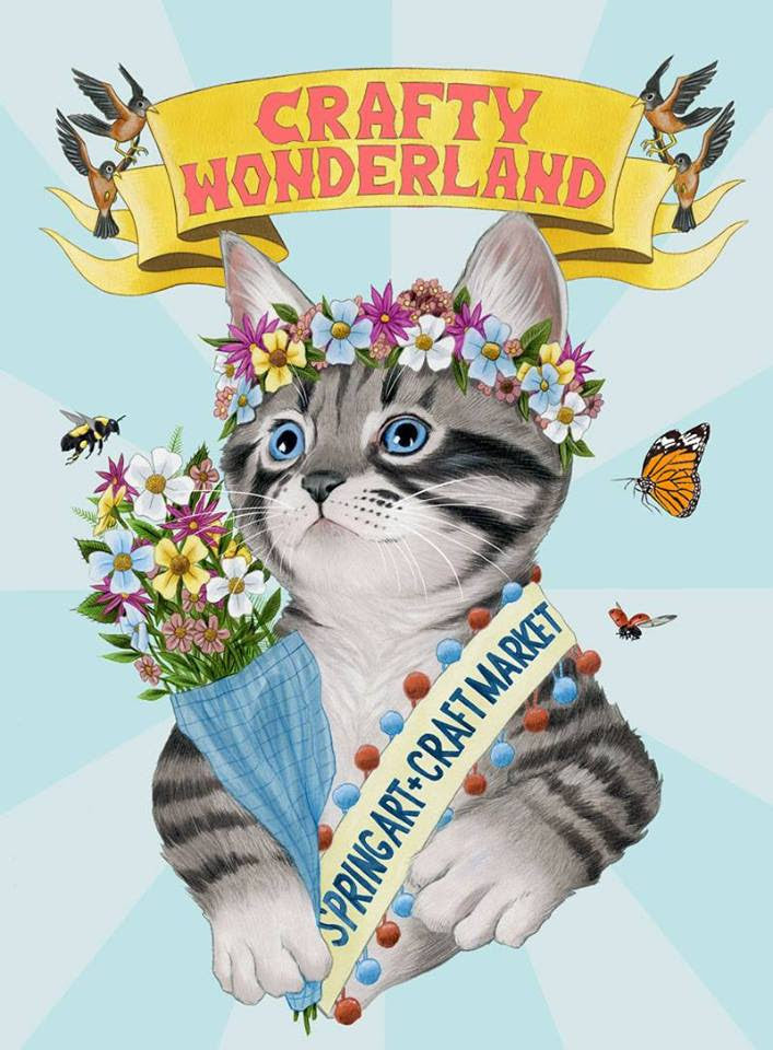 Crafty Wonderland 2019 Spring Art & Craft Market