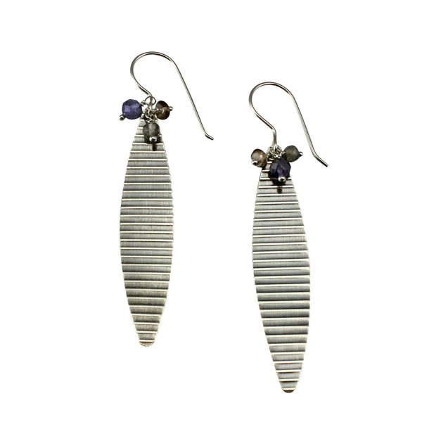 Long Striped Earrings | Chrysalis Collection