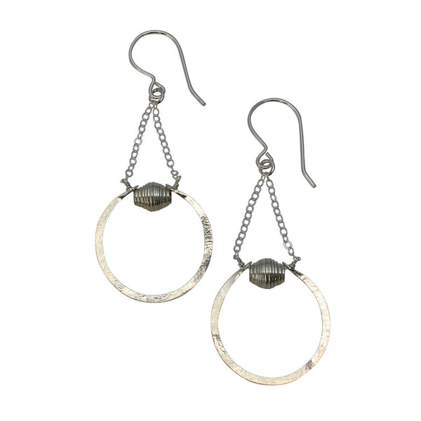 Natural Beauty | Arc Drop Earrings