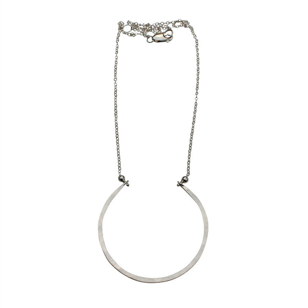 Natural Beauty | Hammered Arc Necklace