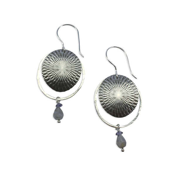 Kaleidoscope | Textured Orbit Earrings