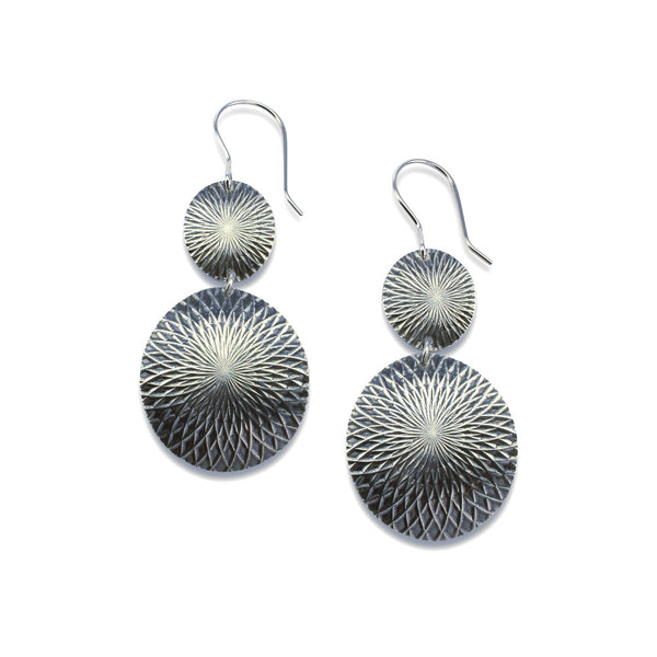 Kaleidoscope | Double Disc Earrings