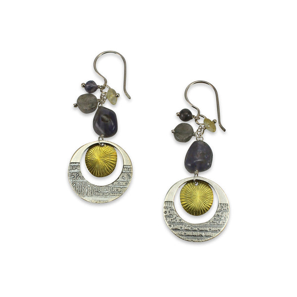 Luna | Mixed Gemstone Earrings