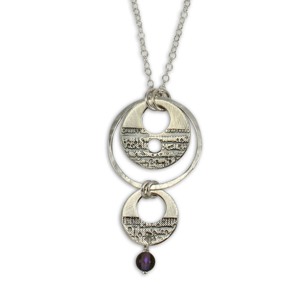 Luna | Double Disc Necklace