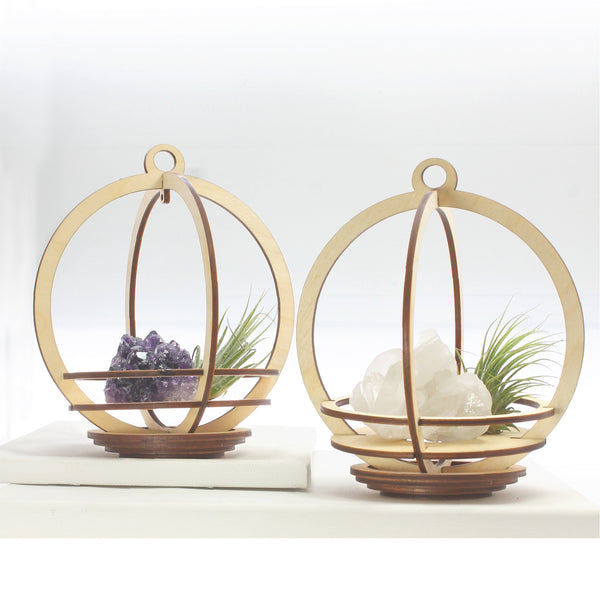 Deluxe Large Orbit Plant & Crystal Holder