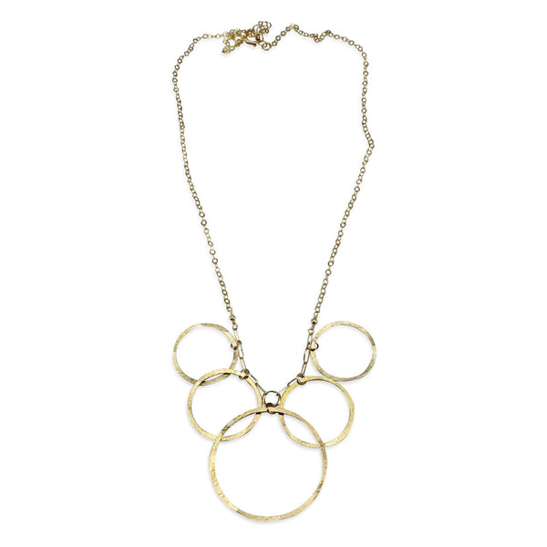 Natural Beauty | Tapered Orbit Necklace
