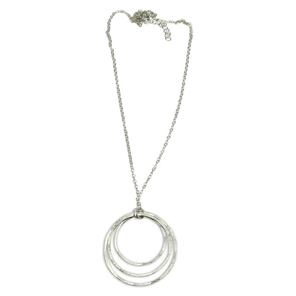 Natural Beauty | Open Triple Orbit Necklace