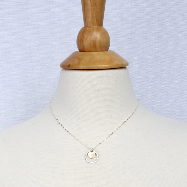 Single Aura Orbit | Natural Beauty Necklace