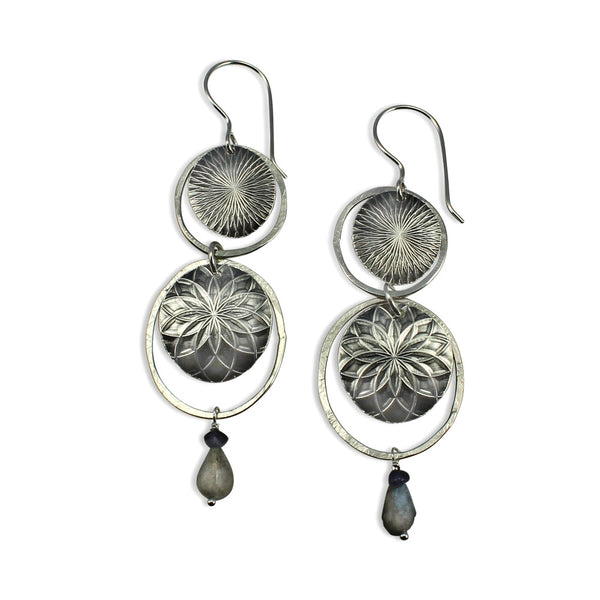 Talisman | Double Texture Earrings