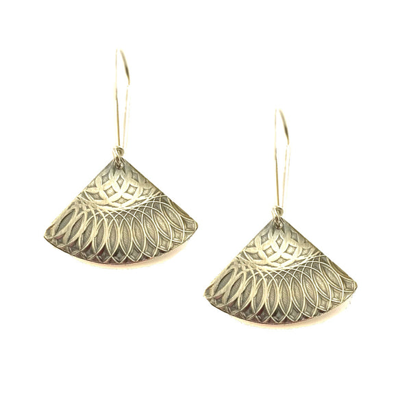 Talisman | Drop Fan Earrings
