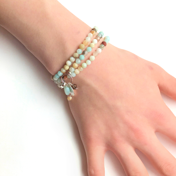 Gemstone Wrap Bracelet / Necklace | WEB SPECIAL