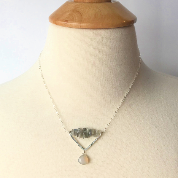 Cumulus Gemstone Necklace