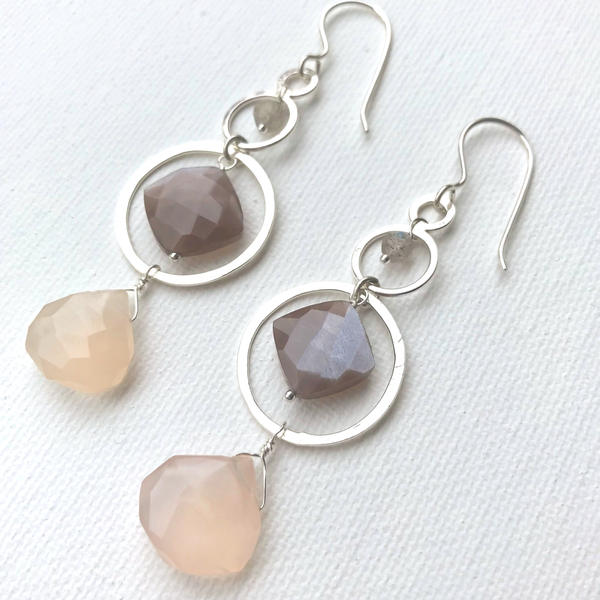 Effervescent Chocolate Statement Earrings