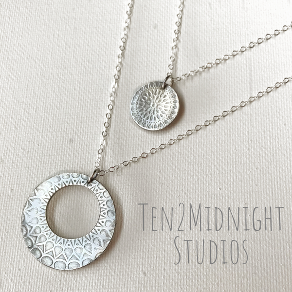 Double Necklace set - Midnight