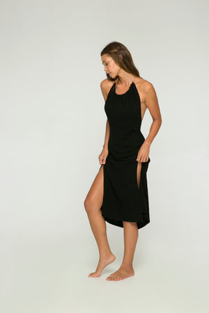 Le Pirate Dress in Black