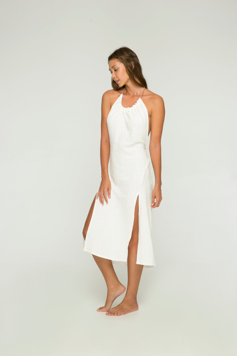 Le Pirate Dress in White
