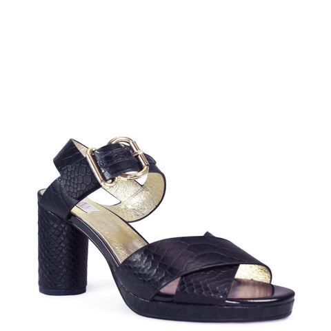 Ginger Heel - Black Snake