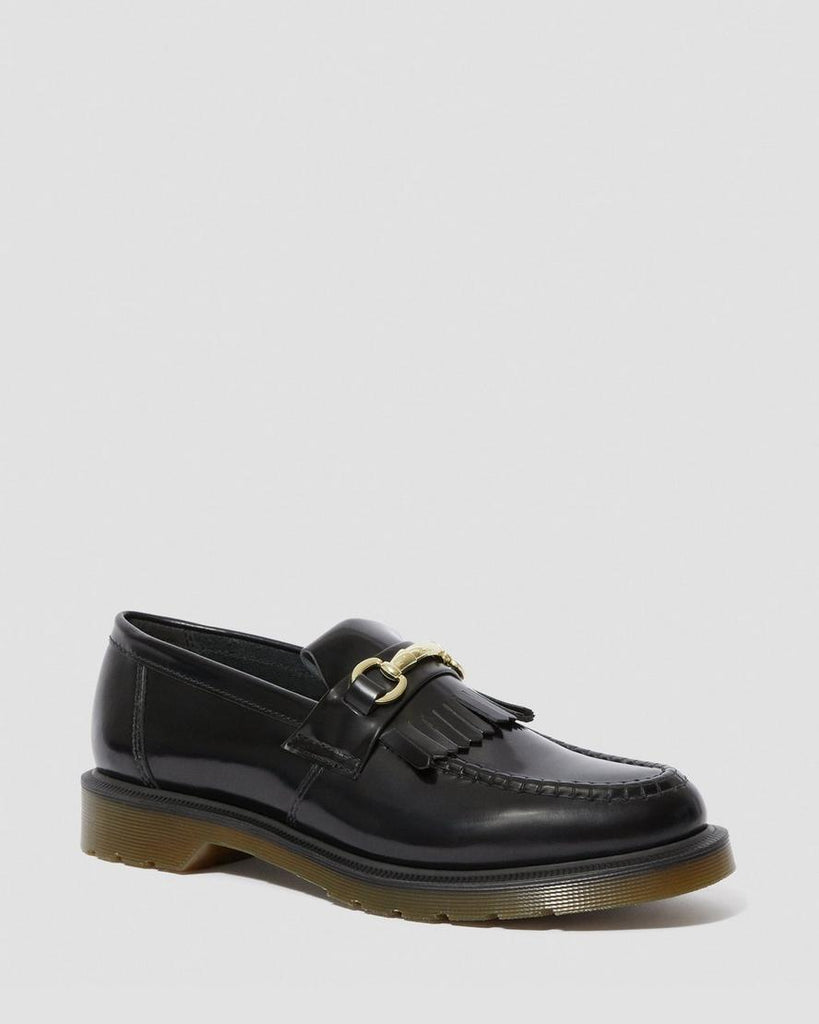 Adrian Snaffle Loafer - Black