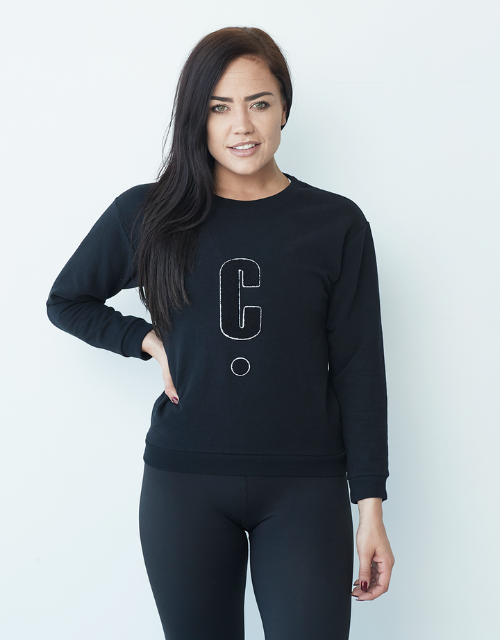 C Sweater - Black