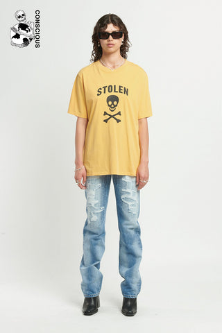 Jolly Roger Tee - Gold