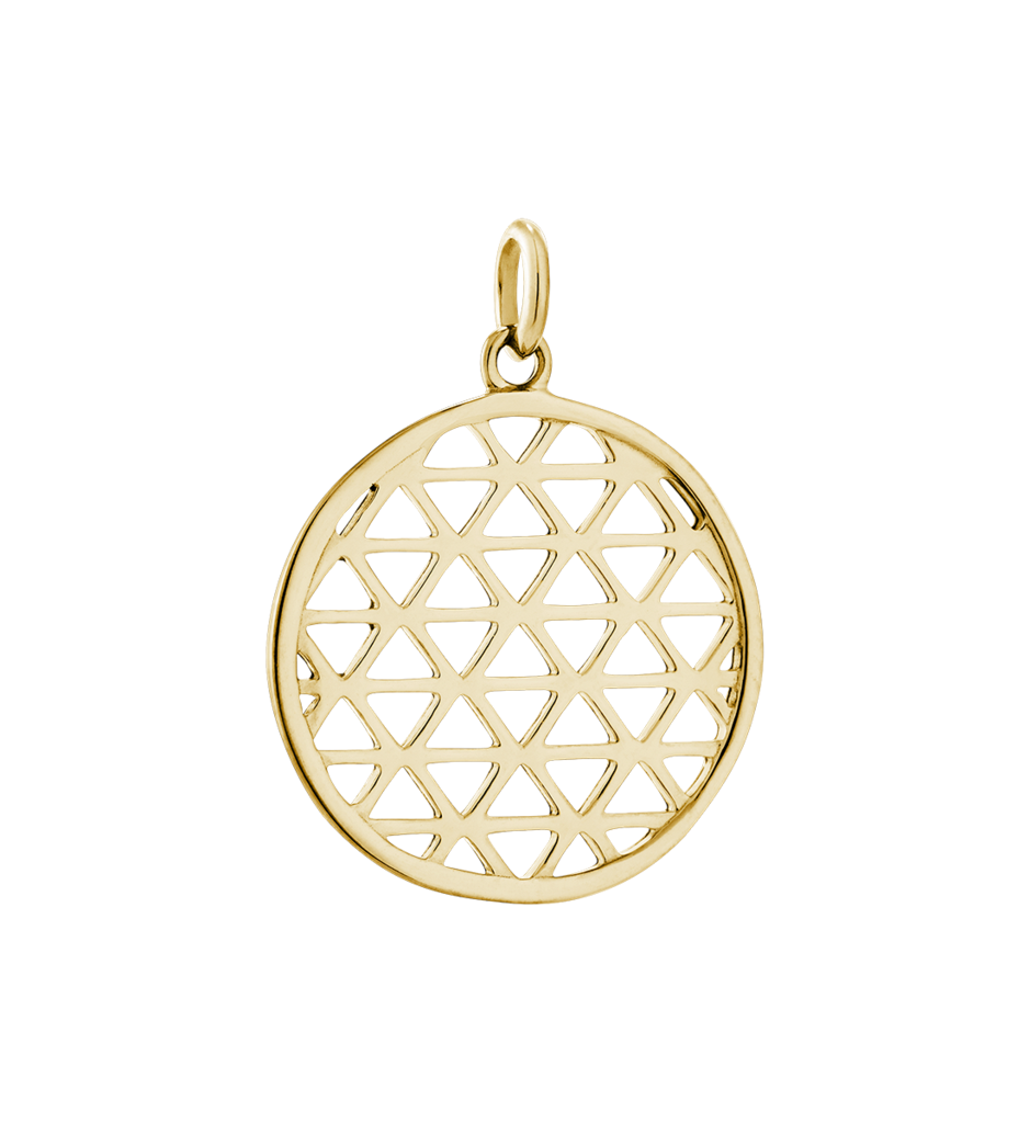Filigree Circle - Gold