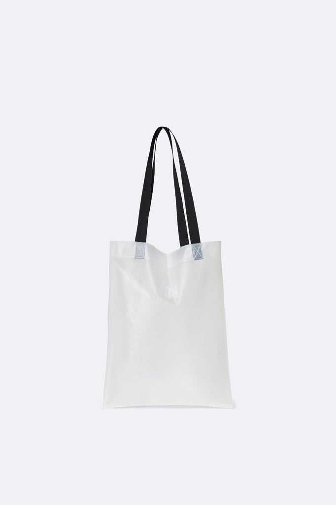 Transparent Shopper - Foggy White