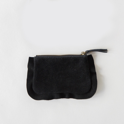 Frills Pouch - Black