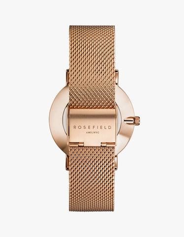 The Mercer White-Rose Gold