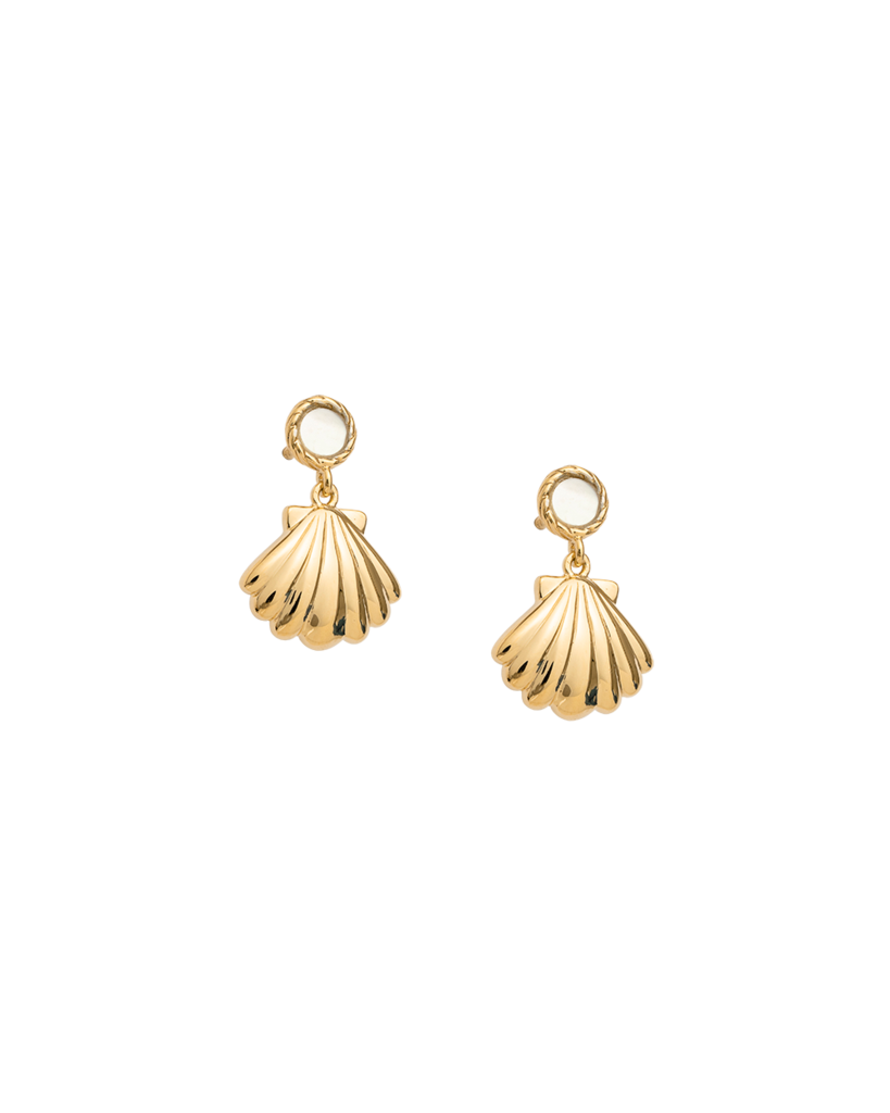 Seashell Earring Set