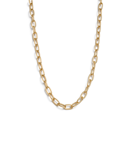 Tidal chain Necklace - Gold