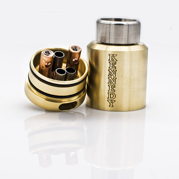 2 Post Kennedy 24MM RDA Brass